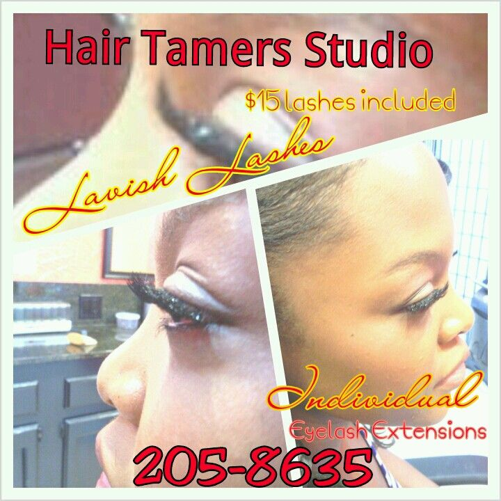 #eye #lash #individual #lavish #lashes #hairtamersstudio Reserve your spot today!! #ladies #new #weaves #extensions #vip Hair #women #girls #hump #day #special #everyday