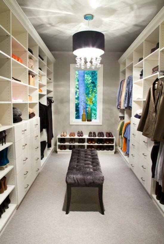Ankleidezimmer Ideen – Planen Sie einen begehbaren Kleiderschrank?