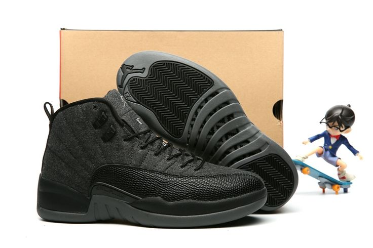 new arrivals e4741 a1788 where can i buy 2017 air jordan 12 wool dark grey black metallic silver  a891b 2368a
