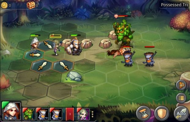Heroes Tactics is a Free to play TBS Turn Based Strategy Multiplayer Game
