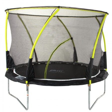 Plum 8ft Whirlwind trampoline with 3G Enclosure.