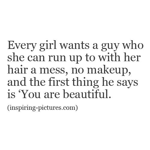 Beauty Without Makeup Quotes