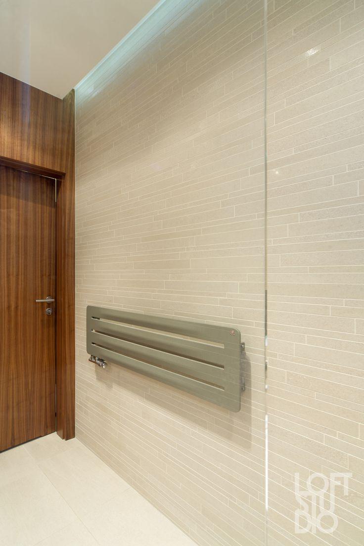 heater in apartment design by LOFTSTUDIO/ projekt LOFTSTUDIO Pragniesz podobnego wnętrza to zgłoś się do nas www.loftstudio.pl