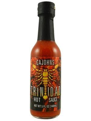 Cajohn's Trinidad Scorpion Hot Sauce