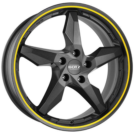 Dotz Touge Graphite Pin Stripe Alloy Wheels