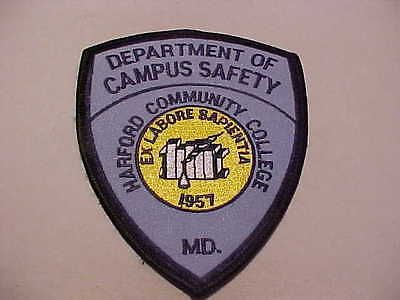 HARFORD-MARYLAND-COMMUNITY-COLLEGE-CAMPUS-SAFETY-PATCH