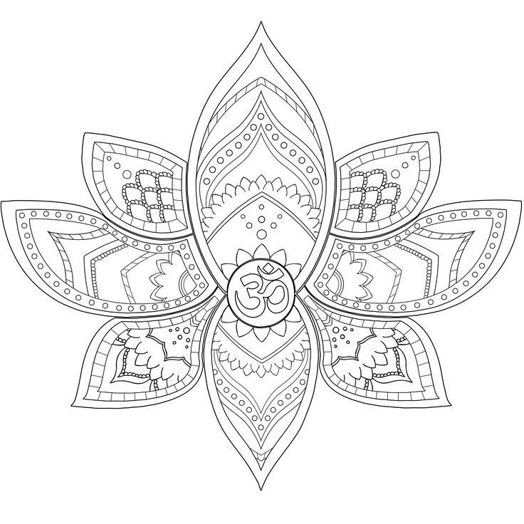 FMP Lotus mandala By Lauren Hill