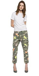 Pantaloni camouflage con patch W8772 .000.70409