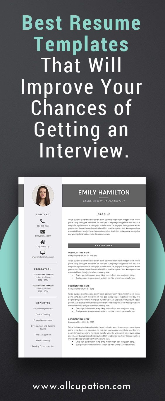 Best Resume Templates resume template cv template free cover letter ms word on mac pc 1000 Ideas About Best Resume Template On Pinterest Resume Templates Free Download Resume Template Free And Free Cover Letter Examples