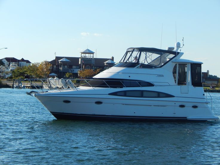 2002 CARVER YACHTS 396 Motor Yacht Power Boat For Sale