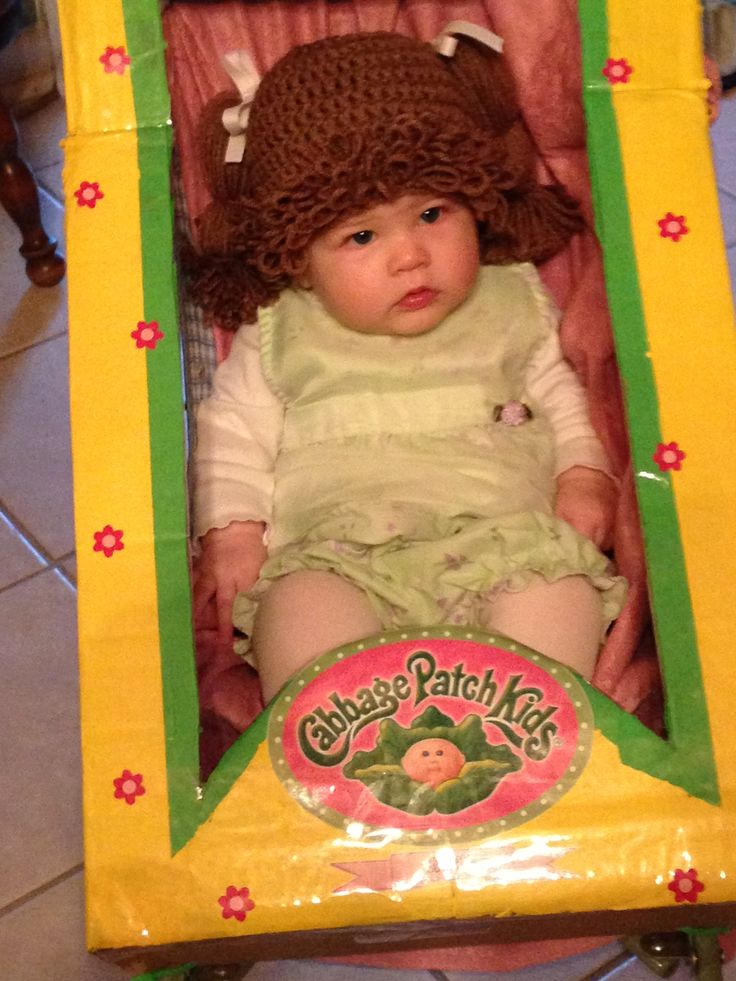 Cabbage patch baby costume diy halloween costumes pinterest diy and crafts babies and for Cabbage patch costumes