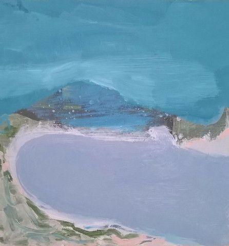 23/ Bluey Green - Nathan Davies sold