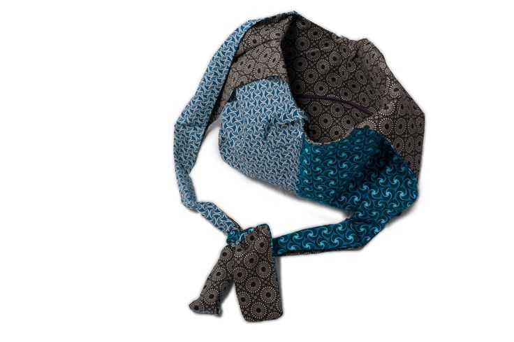 Shweshwe Hobo bag, Cotton Hobo bag, Hobo bag, Shweshwe bag, Blue fabric Bag…