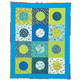 Baby Bubbles Quilt Pattern