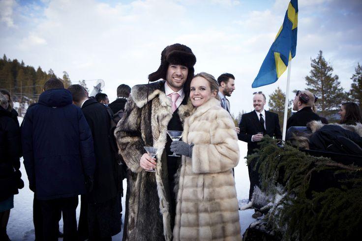Bröllop i Tännäskröket