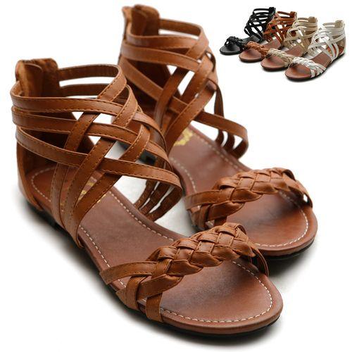 sandalias de gladiador