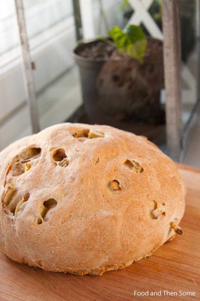 #Raparperi #leipä / #Rhubarb #Bread