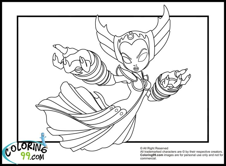 chaos skylanders coloring pages - photo#11