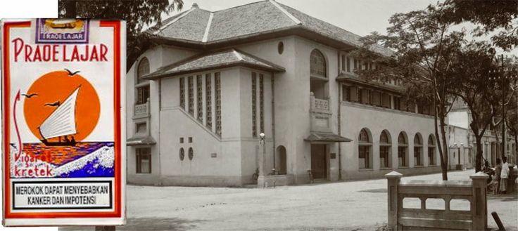 Prahoe Lajar building Old Town Semarang - Ouderstaad.