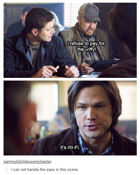 supernatural tumblr posts | ... couple of my favourite supernatural tumblr posts. These are not mine