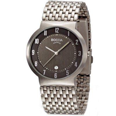 Boccia - Men\'s Boccia Titanium Watch - B3554-02 - RRP: £115.00 - Online Price: £97.75