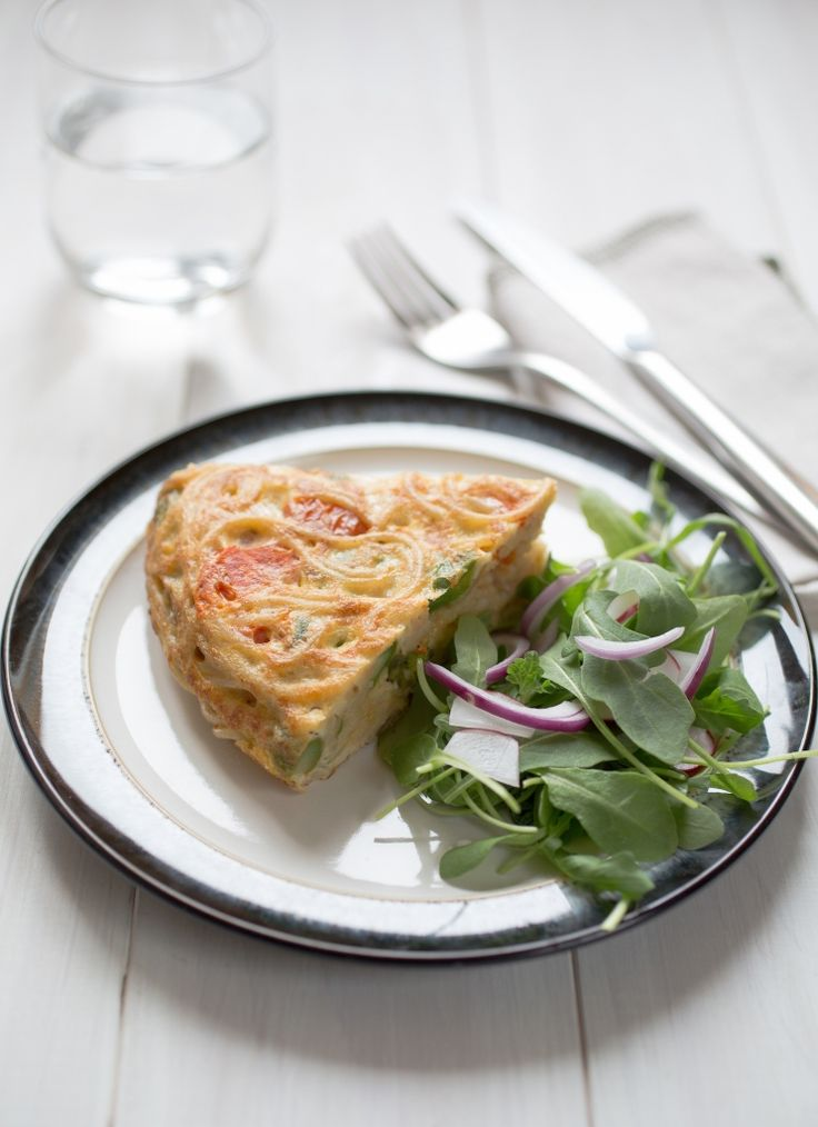 ... Spaghetti Frittata is not only gluten free but also simple, quick and