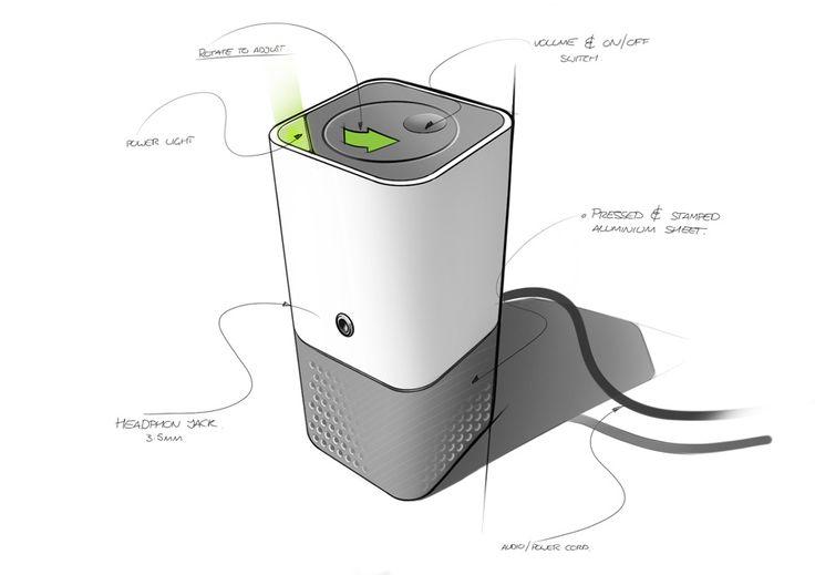 Speaker - nice shading