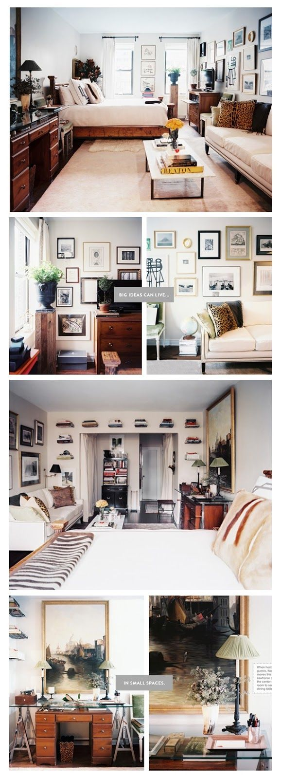 Best Studio Images On Pinterest Beds A Small And Bedroom - A small apartment with big dreams