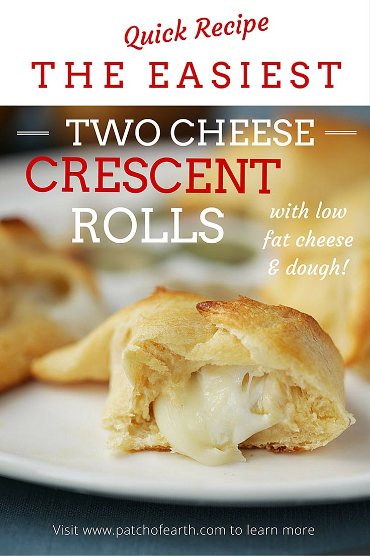 This recipe uses pre-made crescent roll dough, Babybel Light cheese, and mozzarella pearls. The result is a cheesy, flaky appetizer that's great for snacks or meals.