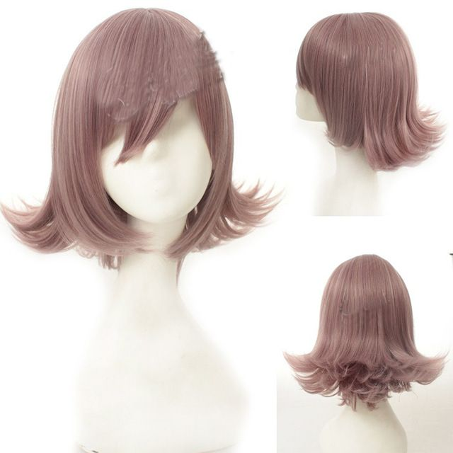 Peruca pelo de la reina sexy anime taro peluca anti-alice peluca corta lado rizado flequillo pelo del partido de cosplay rizado rizado cabello corto peluca