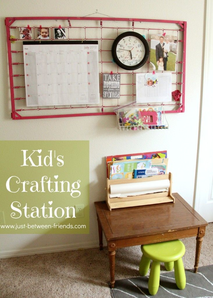 Kid S Crafting Station