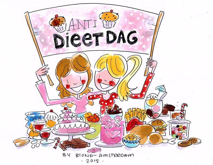 Anti dieetdag - blond amsterdam