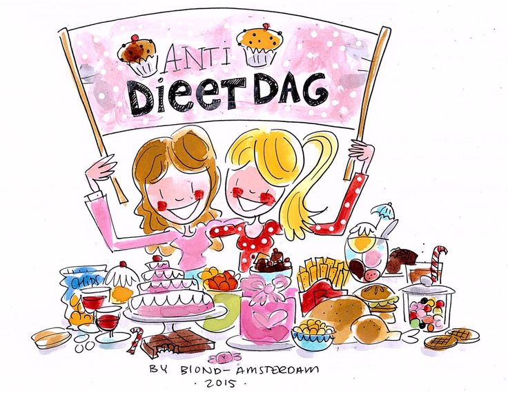 Anti Dieetdag by Blond-Amsterdam