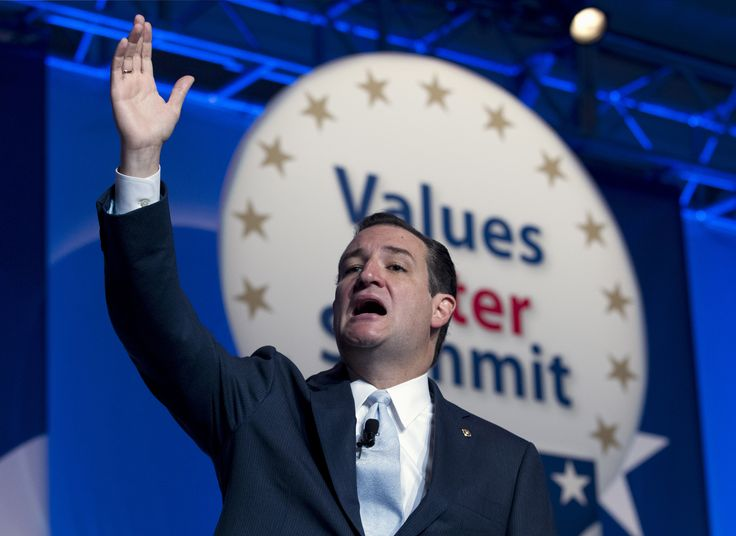 Cruz crushes field in presidential straw poll at Values Voters Summit. Sen. Ted Cruz trounced the competition in the presidential straw poll at the 2013 Values Voters Summit, with Dr. Ben Carson and former Pennsylvania Sen. Rick Santorum coming in a distant second and third places — highlighting how Mr. Cruz has become a rock star with grassroots conservatives. 10/12/13