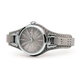 Hoops Jolie Grey Leather Strap 2517L03
