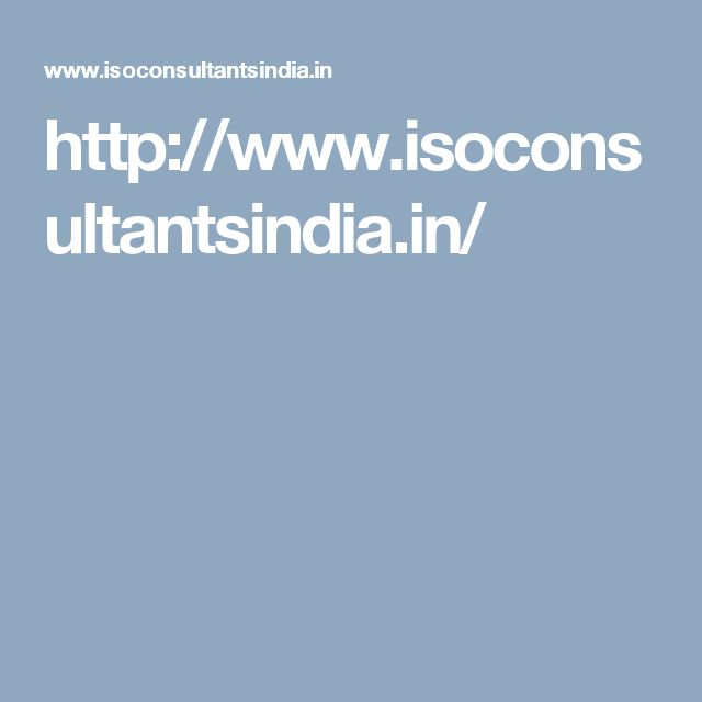 http://www.isoconsultantsindia.in/