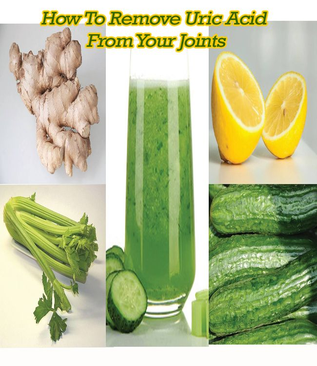 How to Remove Uric Acid from your Joints