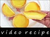 Hong Kong Egg Tarts Recipe & Video (Kitchen Tigress)