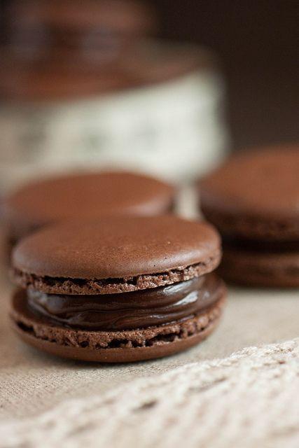 Chocolate Macarons -Experimenting With Adriano Zumbo's Recipe