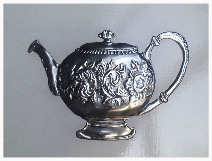 Tea pot by Tracey made at Pewter Me Blue www.fb.com/mimmicgalleryandstudio www.mimmic.co.za