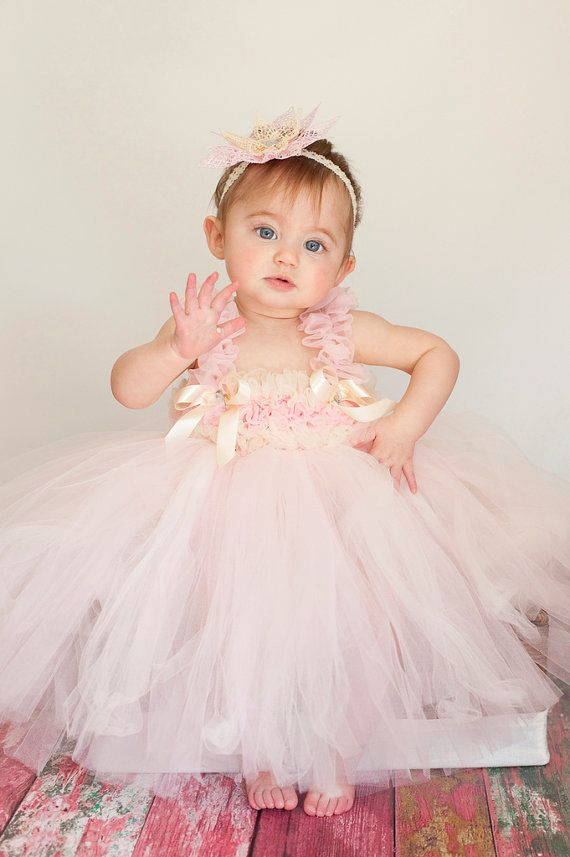 Flower girl tutu dress  so cute for Greg's neice who will be 9months for our wedding!!