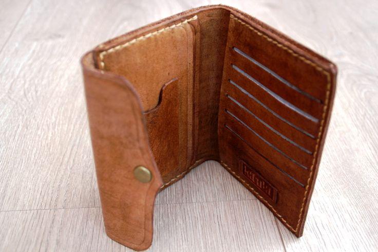 Leather handmade Wallet - 1 day in kaula  workshop