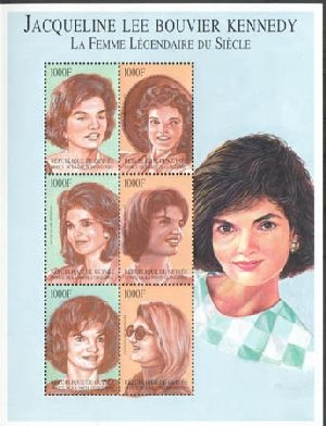 Jacqueline Kennedy Onassis stamps