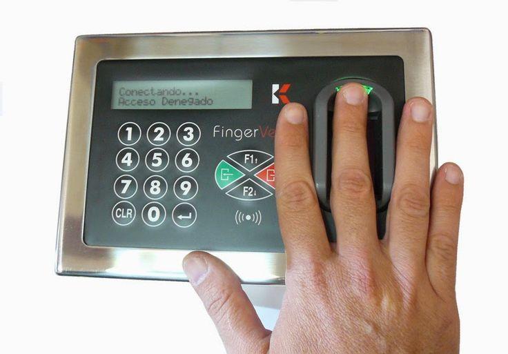 Biometricos: Accesos con biometria vascular FingerVein