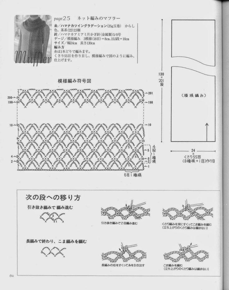Oltre 10 fantastiche idee su schemi sciarpa a maglia su for Ricamo schemi gratis