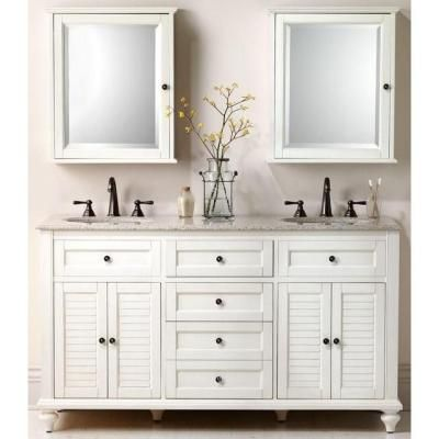 Home Decorators Collection Hamilton 61 In W X 22 In D Double Vanity In Anti