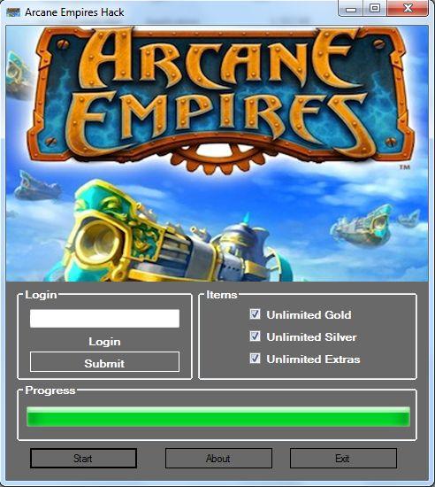 Download Arcane Empires Hack Tool Cheats Engine No Survey
