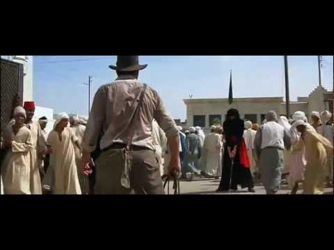 Indiana Jones la pelicula, musica extradiegetica para crear  una atmosfera