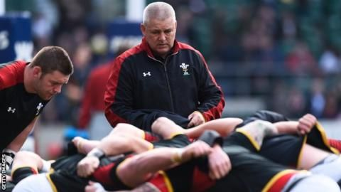 Six Nations 2016: Wales team and coaches as one - Rob Howley