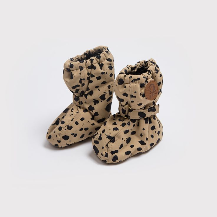Mini Rodini Beige Expedition Baby Boots   Funky Baby Clothes   Tiny Style   Australia